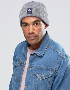 Синяя шапка-бини adidas Originals AY9066 - Синий