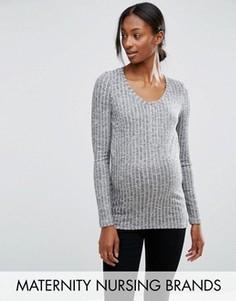 Топ для беременных и кормящих Mamalicious Riban - Черный Mama.Licious