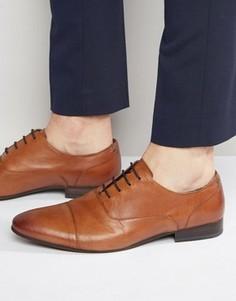 Оксфордские туфли Walk London Mark - Рыжий