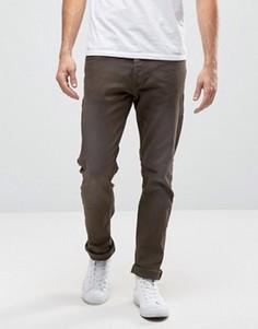 Зауженные джинсы цвета хаки Blend Cirrus - Зеленый