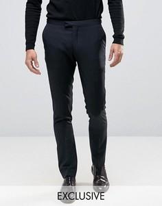 Облегающие брюки Number Eight Savile Row - Черный