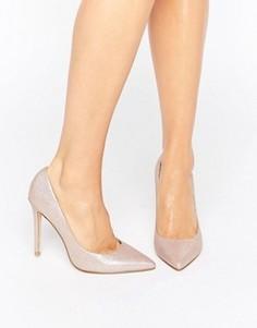 Туфли-лодочки с мерцающим блеском Faith Chloe - Золотой