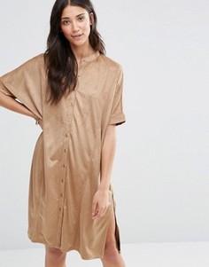 Платье Vila Miller - Коричневый