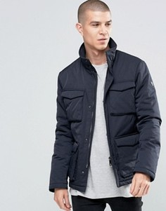 Куртка из водоотталкивающей ткани с 4 карманами Armani Jeans - Темно-синий