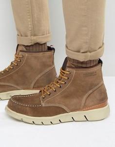 Ботинки cо строчкой на носке Hilfiger Denim John - Рыжий
