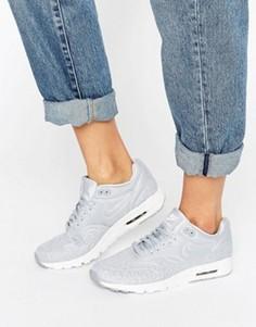 Серые кроссовки Nike Air Max 1 Ultra - Черный