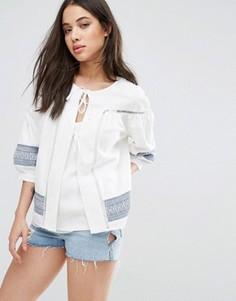 Пиджак со вставками d.RA Claudette - Белый