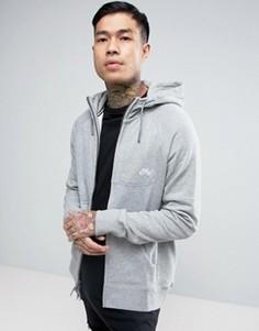 Серое худи на молнии Nike SB Everett 846882-063 - Серый