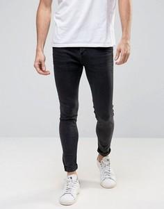 Серые джинсы скинни Selected Homme - Серый