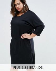 Платье Junarose Plus Guna - Черный