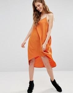 Платье-комбинация Noisy May Kafi - Коричневый