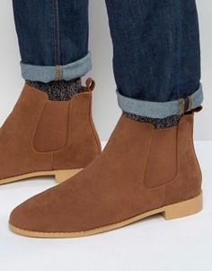 Светло-коричневые ботинки челси Brave Soul - Рыжий