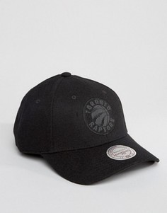 Шерстяная бейсболка Mitchell & Ness Eclipse Toronto Raptors - Черный