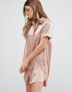 Платье-рубашка Glamorous - Коричневый