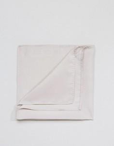 Светло-серый платок для нагрудного кармана ASOS - Серый