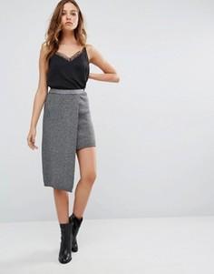 Асимметричная юбка-карандаш Vero Moda - Мульти