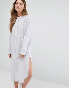 Длинная рубашка ADPT Rose - Белый