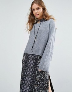 Свитшот Free People Ever Cozy - Синий