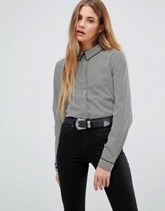 Рубашка в пижамном стиле Brave Soul - Кремовый