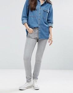 Зауженные джинсы Brave Soul - Серый