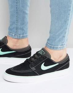 Черные кроссовки Nike SB Zoom Stefan Janoski 333824-052 - Черный