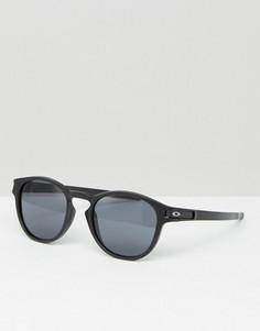 Солнцезащитные очки в круглой оправе Oakley - Черный