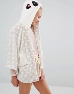 Одеяло с рукавами Chelsea Peers - Кремовый