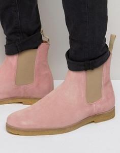 Замшевые ботинки челси Religion - Розовый
