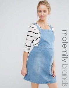 Джинсовый сарафан для беременных New Look Maternity - Синий