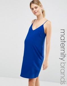 Платье-комбинация для беременных New Look Maternity - Синий