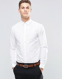Белая рубашка из поплина классического кроя New Look - Белый