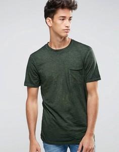 Футболка цвета хаки New Look - Зеленый