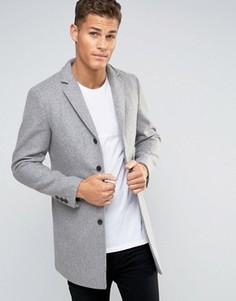 Пальто Selected Homme - Серый