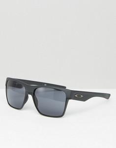 Солнцезащитные очки в квадратной оправе Oakley - Черный