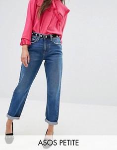 Синие джинсы в винтажном стиле ASOS PETITE Original - Синий
