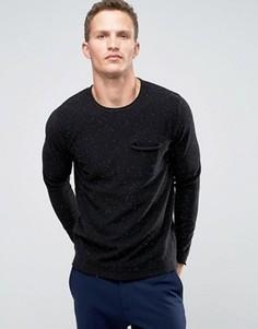 Джемпер с карманом Troy - Черный