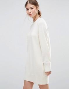 Платье-джемпер Wood Wood Rosa - Белый
