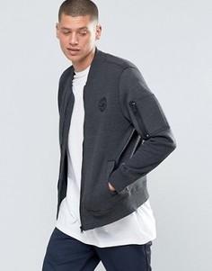 Черная куртка‑пилот Converse MA-1 10001109-A02 - Черный