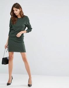 Трикотажная юбка Y.A.S - Зеленый