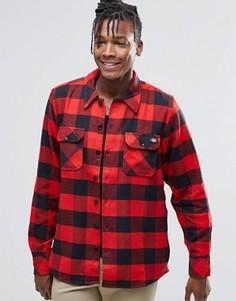 Рубашка классического кроя в клетку Dickies - Красный