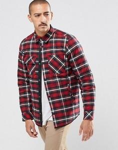 Рубашка классического кроя в клетку Carhartt WIP Damon - Красный