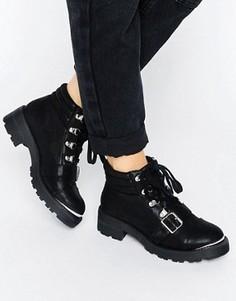 Массивные ботинки ASOS ANDRO - Черный