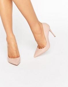 Туфли-лодочки телесного цвета с острым носком ALDO Stessy - Бежевый