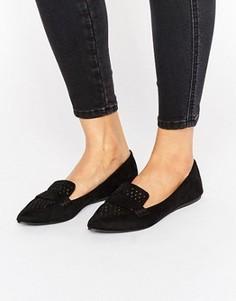Туфли на плоской подошве Call It Spring Unoille - Черный