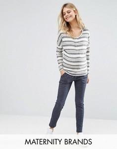 Спортивные штаны для беременных Mamalicious - Серый Mama.Licious