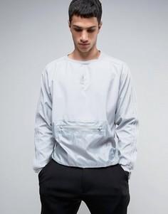 Свитер с тканым карманом adidas Originals - Серый
