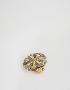 Гравированное кольцо House Of Harlow - Золотой