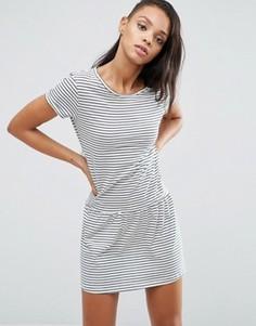 Трикотажное платье в полоску Pepe Jeans Xana - Белый