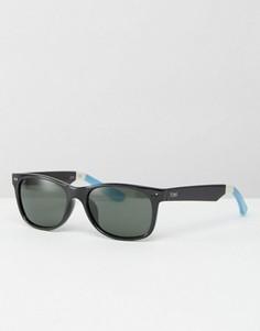 Солнцезащитные очки в квадратной оправе Toms Beachmaster - Черный