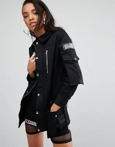 Тренерская куртка Shade London - Черный